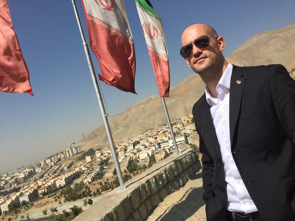 Steffen Leiprecht im Iran
