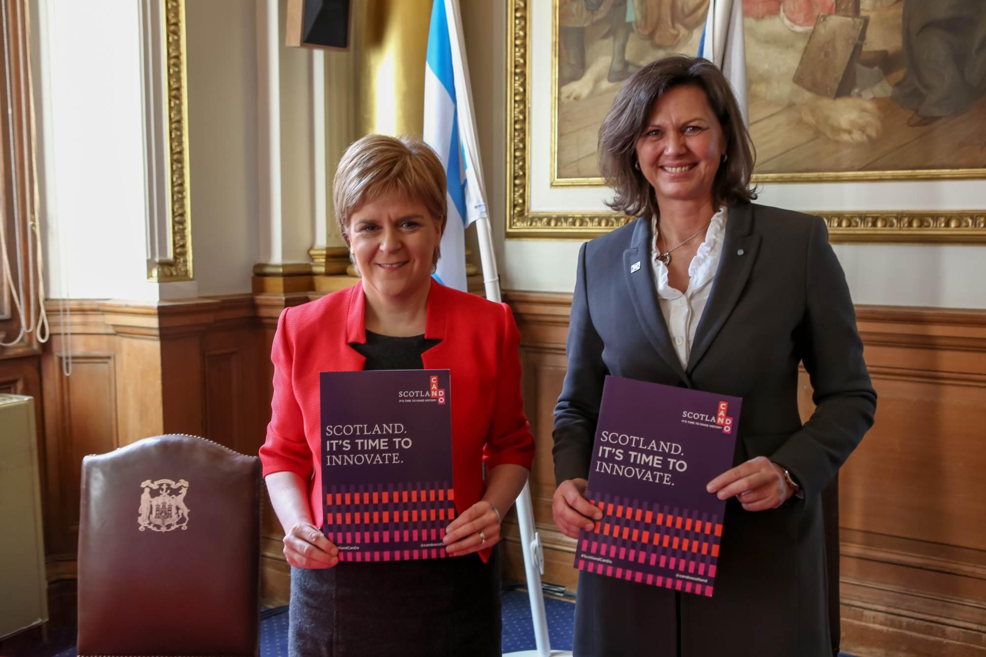 Delegationsreise nach Schottland