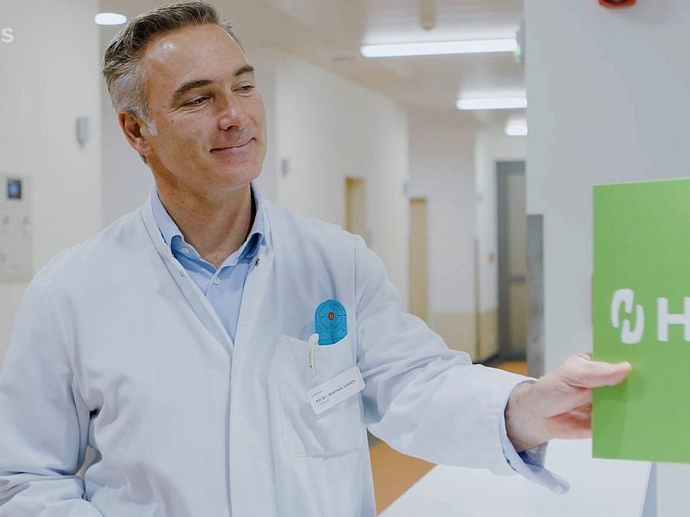 Hospital in a nutshell (video)